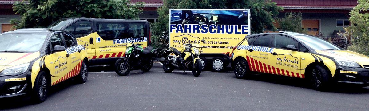 Fuhrpark Fahrschule myfriends Ottensheim